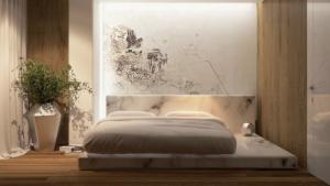 marble bed frame